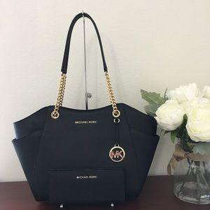 Sale❗️Michael kors large chain shoulder bag&wallet